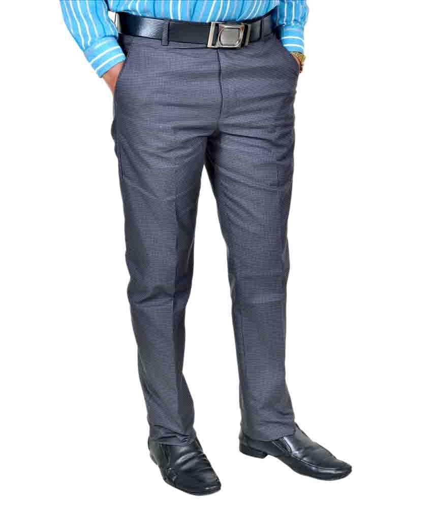 Cross Leg Formal Trouser