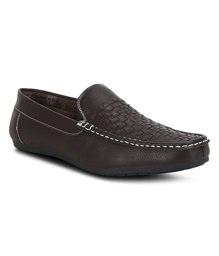 Get Glamr Brown Loafers