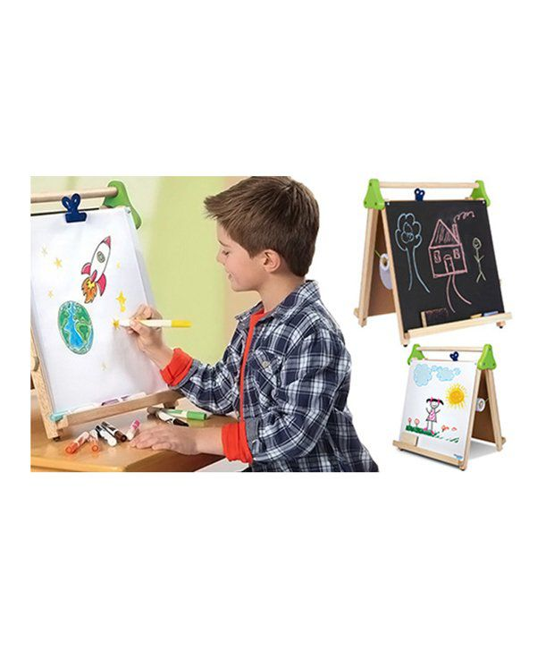 and retails discovery kids tabletop easel drawing writing board rh snapdeal com
