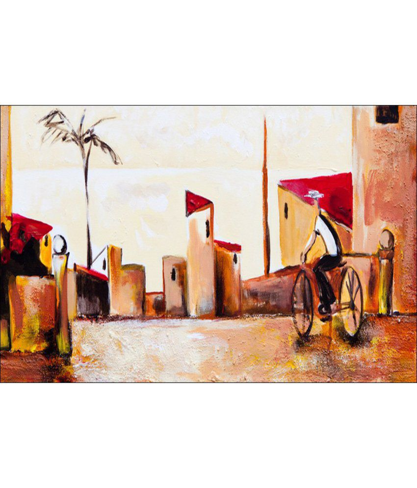 Anwesha's Gallery Wrapped Digitally Printed Canvas Wall Painting 30x20 Inch - 173