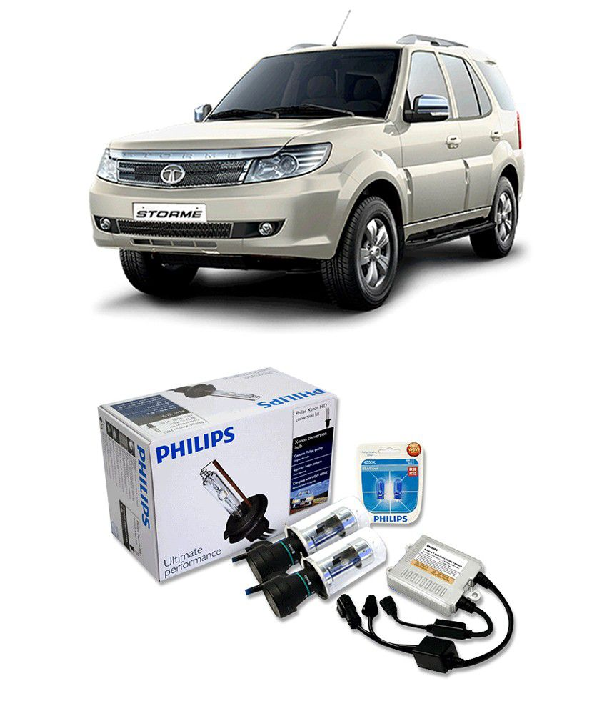 746e0f5099ac Philips HID Kit For Tata Safari Storme  Buy Philips HID Kit For Tata Safari  Storme Online at Low Price in India on Snapdeal