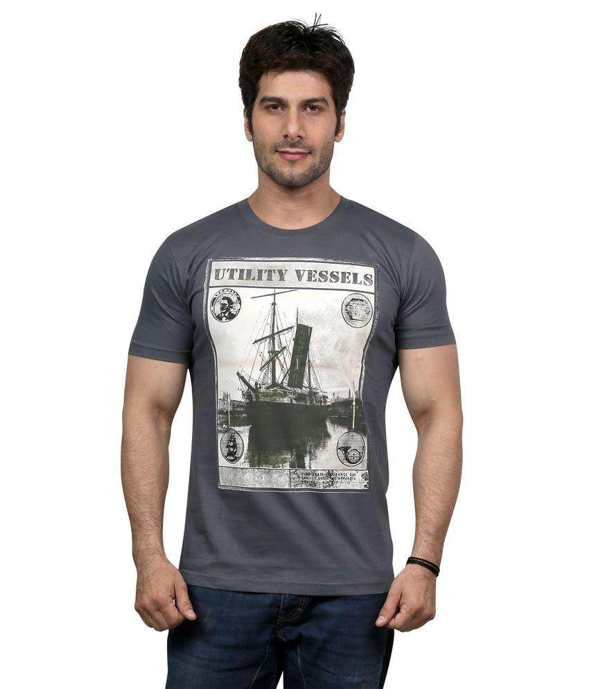 National Mens Black T Shirt