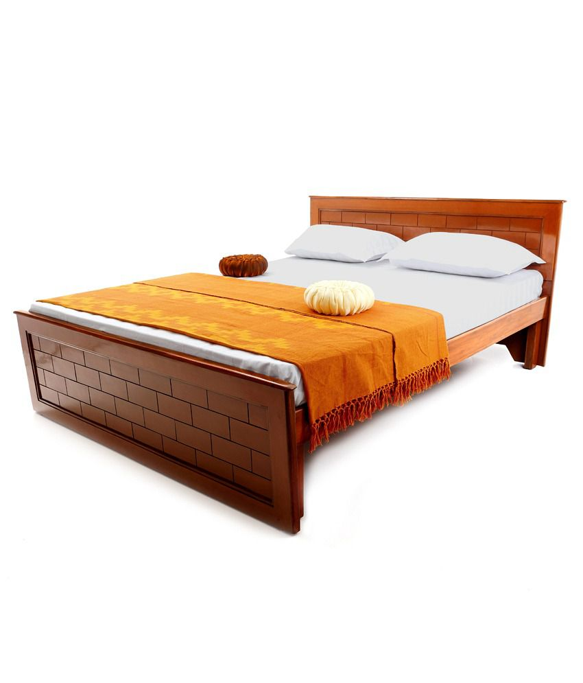 Looking Good Furniturebrick Queen Size Without Storage Bed Buy Looking Good Furniturebrick