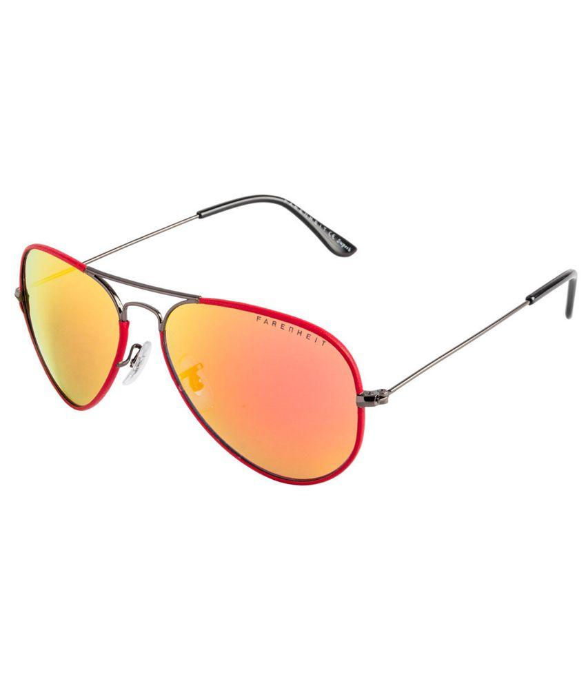 Farenheit SOI-FA-1106-C2 Red/Blue Aviator Sunglasses