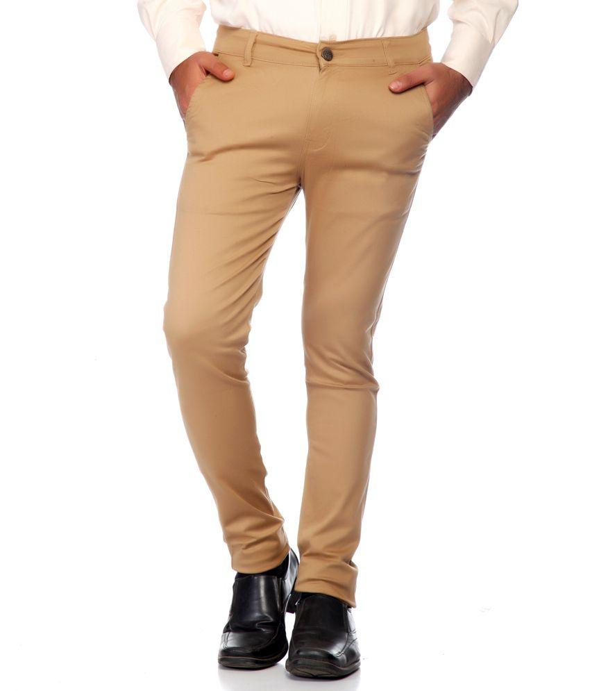 Haltung Beige Cotton Blend Trouser