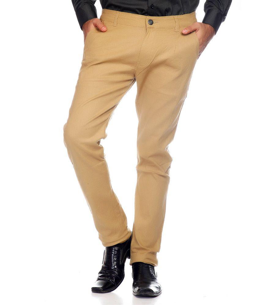 Haltung Beige Regular Chinos Trouser