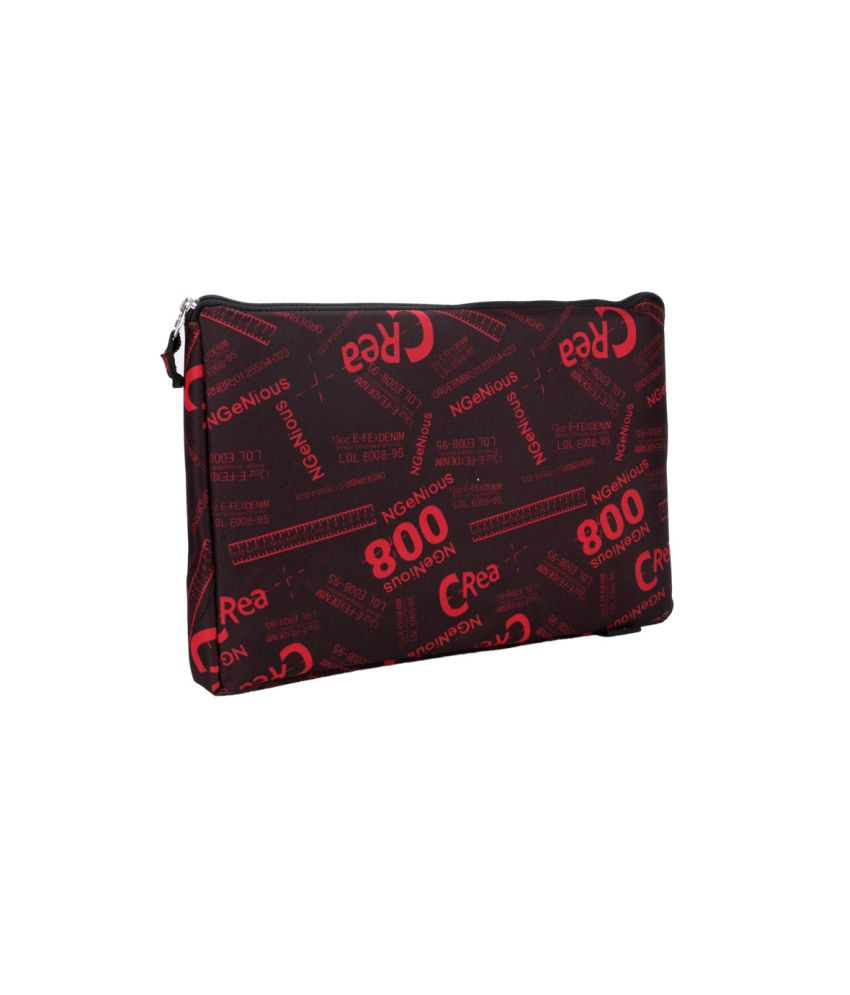 Leaf Red Laptop Laptop Sleeves
