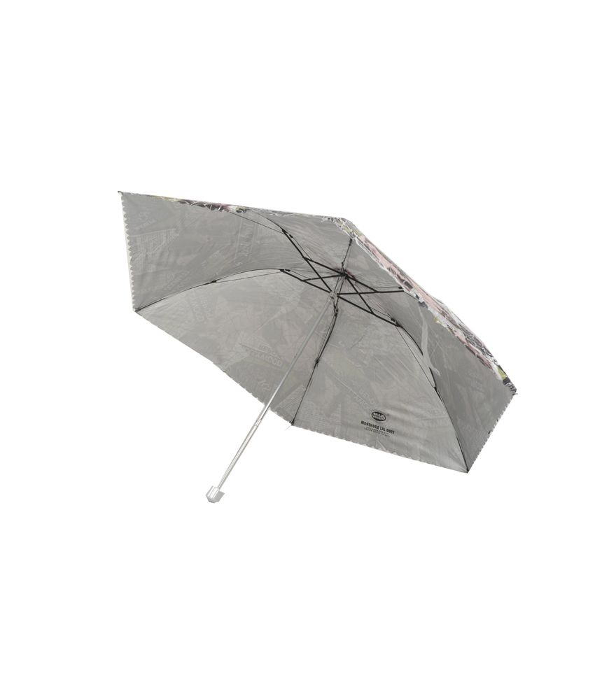 bd6d6f11233fe Mohendra Lal Dutt Black 3 Fold Nylon Umbrella For Women: Buy Online at Low  Price in India - Snapdeal