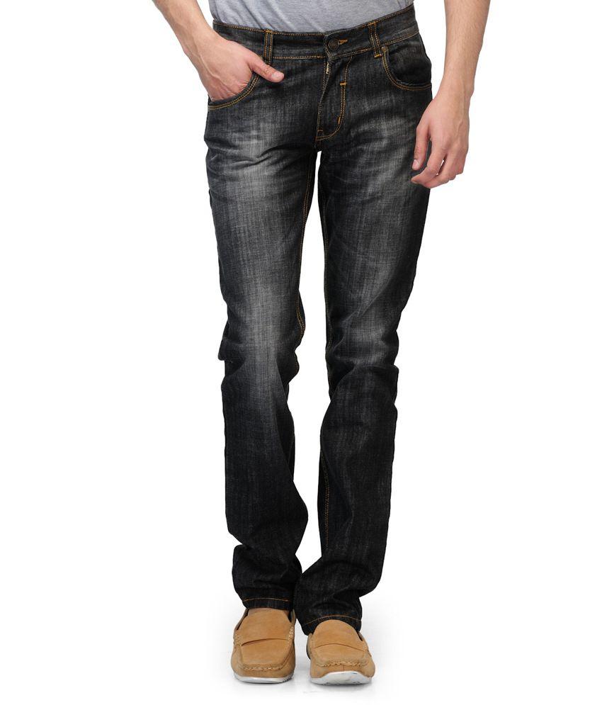 Watershed Black Slim Fit Denim Jeans