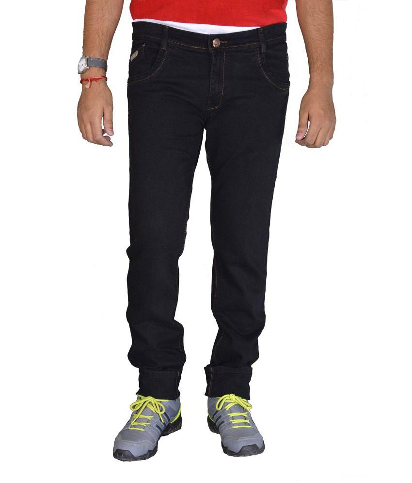 Studio Nexx Black Slim Fit Men's Jeans