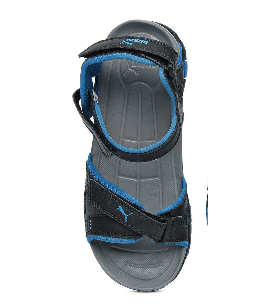 Puma Men Black Marcus Sports Sandals - Buy Puma Men Black Marcus ... a26a9041c840