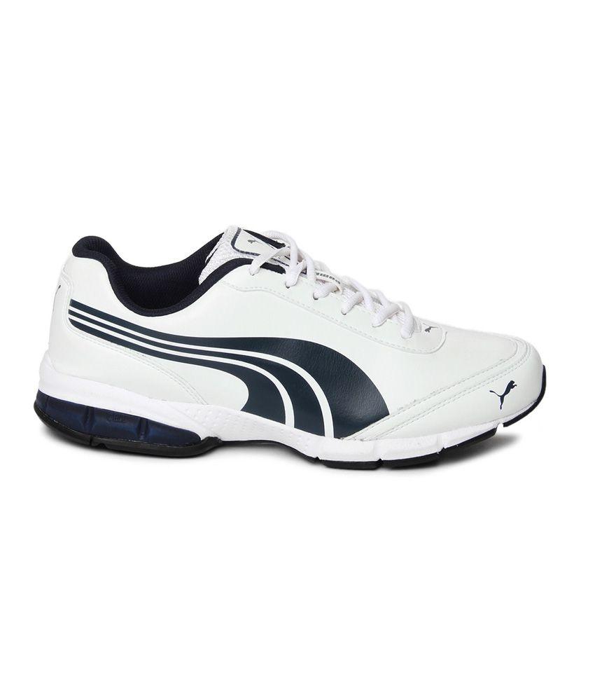 8ab42baa5831b9 Puma Roadstar Xt Dp White Sports Shoes Art SP18795301 - Buy Puma ...