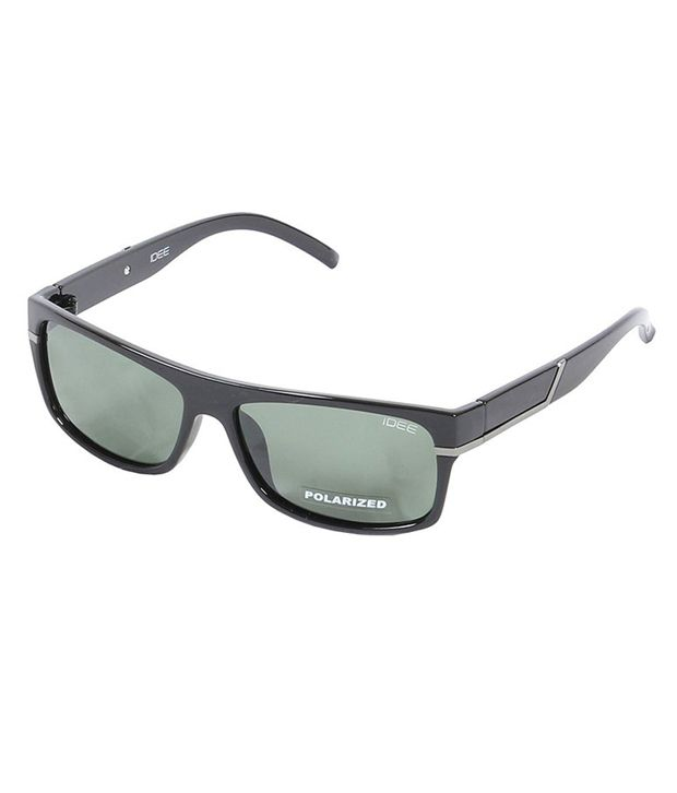Idee Black Wayfarer Non Metal Sunglasses