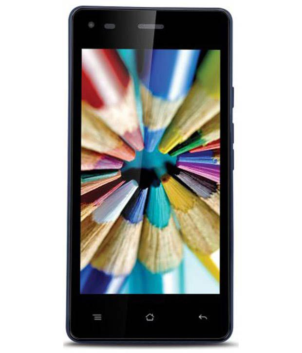 iBall Andi 4.5V Baby Panther Mobile With Octa Core Processor Black +Blue