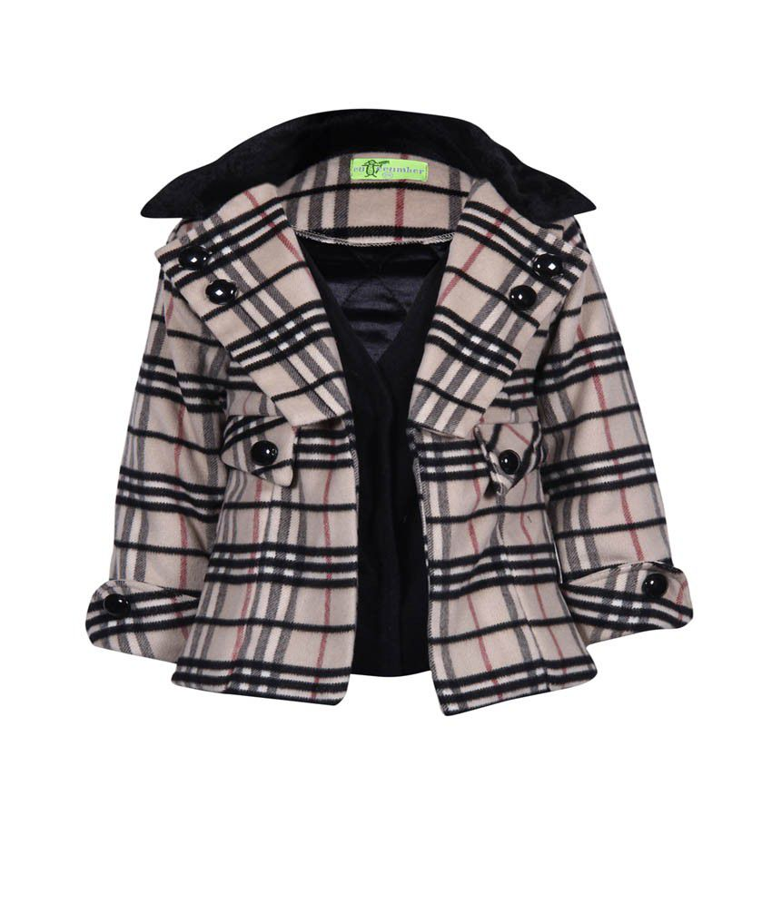 Cutecumber Coat For Girls