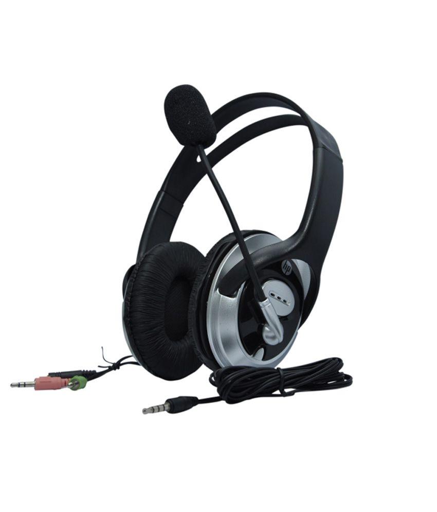 Hp-Headphones-With-Mics