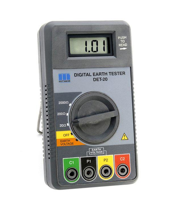 Motwane Digital Earth Tester