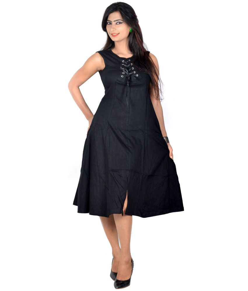 6577b75a7248d6 Vivaa Black Solids Hosiery Round Neck Long Top for Women - Buy Vivaa Black  Solids Hosiery Round Neck Long Top for Women Online at Best Prices in India  on ...