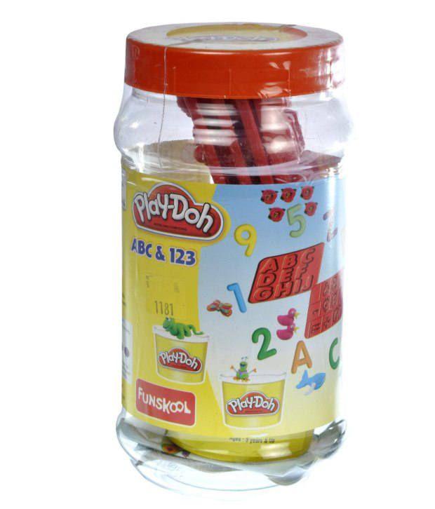 Funskool Play Doh Abc+123