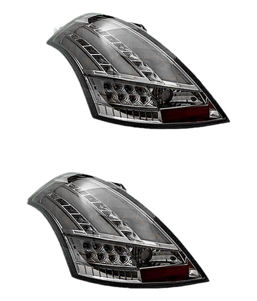 Gaadikart Modified Smoke Tail Light For Maruti Suzuki Swift
