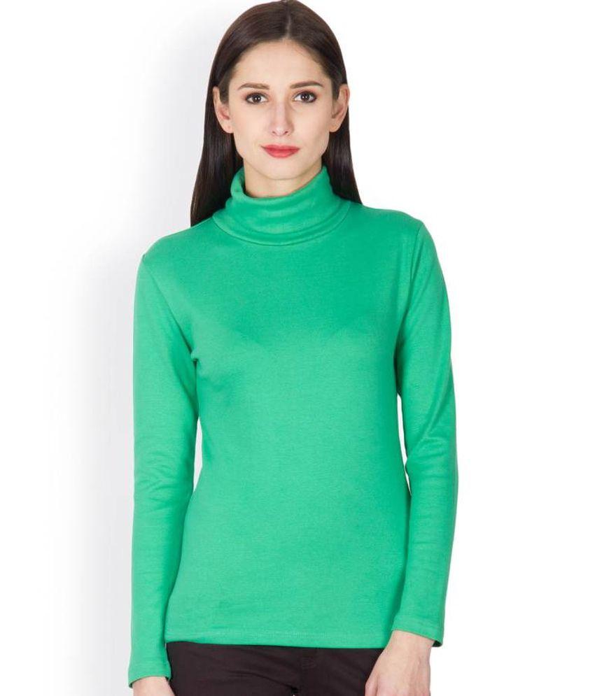 Hypernation Green Cotton Polos