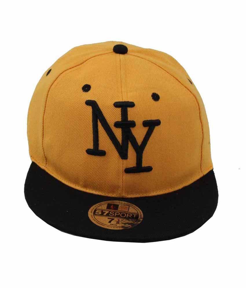 Jstarmart Hip Hop College Orange Cap