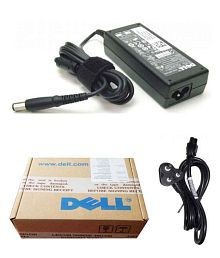 Dell Genuine Original Laptop Adapter Charger 65w 19.5v 3.34a Latitude E4200, E4300, 2100 & Power Cord, used for sale  Delivered anywhere in India