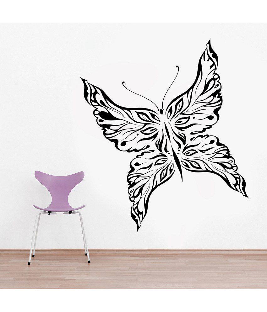 Snapdeal Wall Decor Items : Decor kafe butterfly wall decal buy
