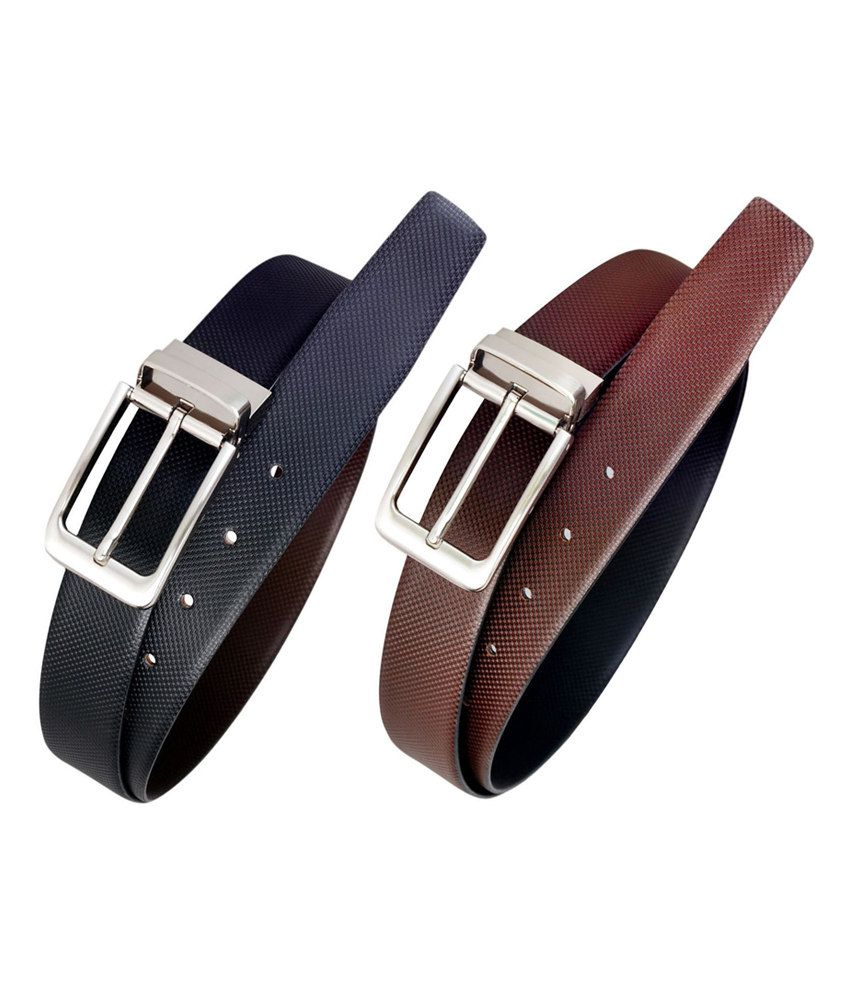 Midas Formal Imported Spanish Leather Belt - Multicolour