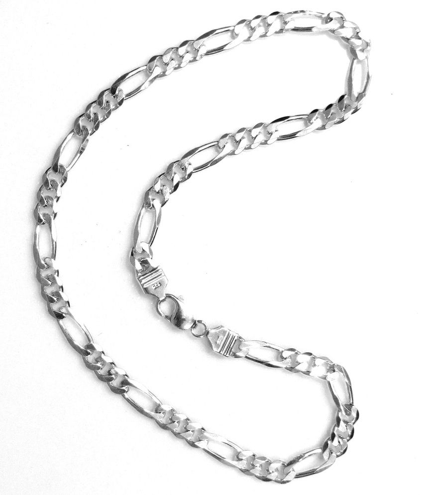 Sss 925 Silver Tendulkar Design Regular Chain