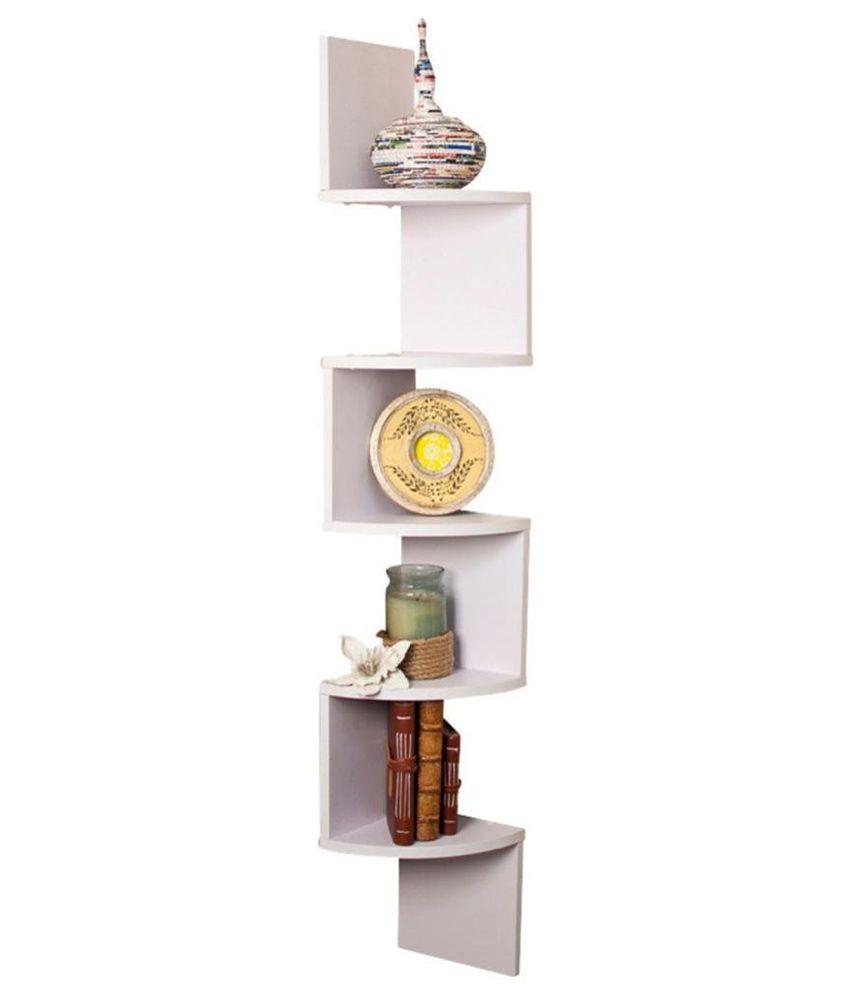 Corner wall mounted shelf unit corner shelving units - Exclusive decoration of book shelf ...