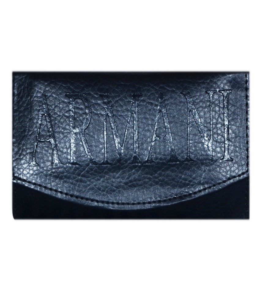 Home Zaara Designer Black Fashionable Premium Quality Unique Wallet For Women
