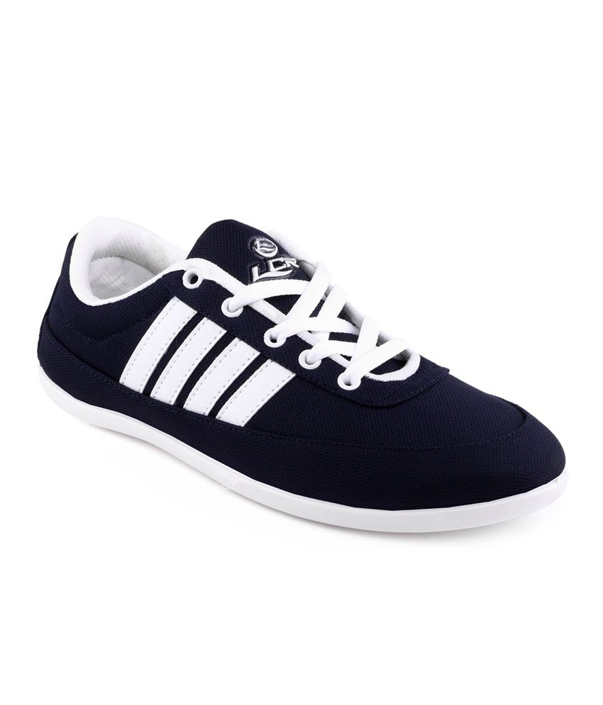 dcb21bf56e Lancer Navy Canvas Shoes - Buy Lancer Navy Canvas Shoes Online at Best  Prices in India on Snapdeal