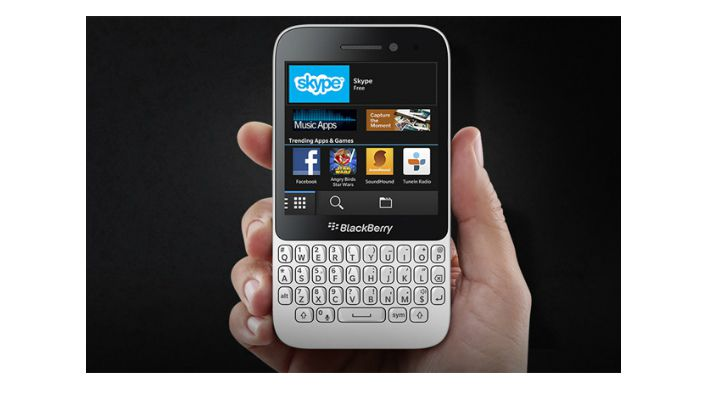Blackberry bold 5 white colour dress