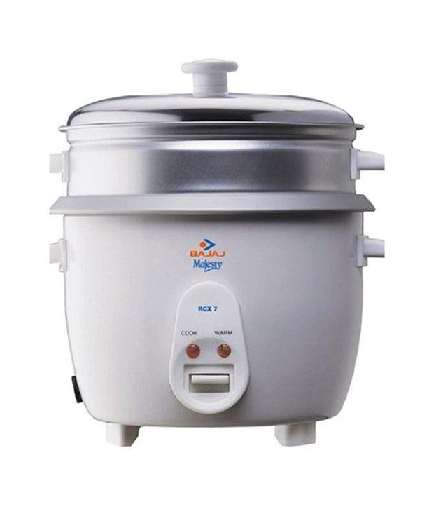 c90d900a4 Bajaj 1.8 Ltr Majesty New RCX 7 Rice Cooker Price in India - Buy Bajaj 1.8  Ltr Majesty New RCX 7 Rice Cooker Online on Snapdeal