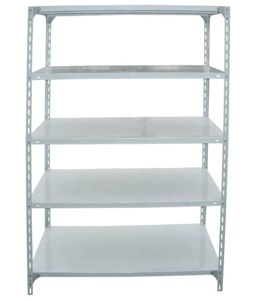 batra steel furniture slotted 4 angle racks buy batra steel rh snapdeal com