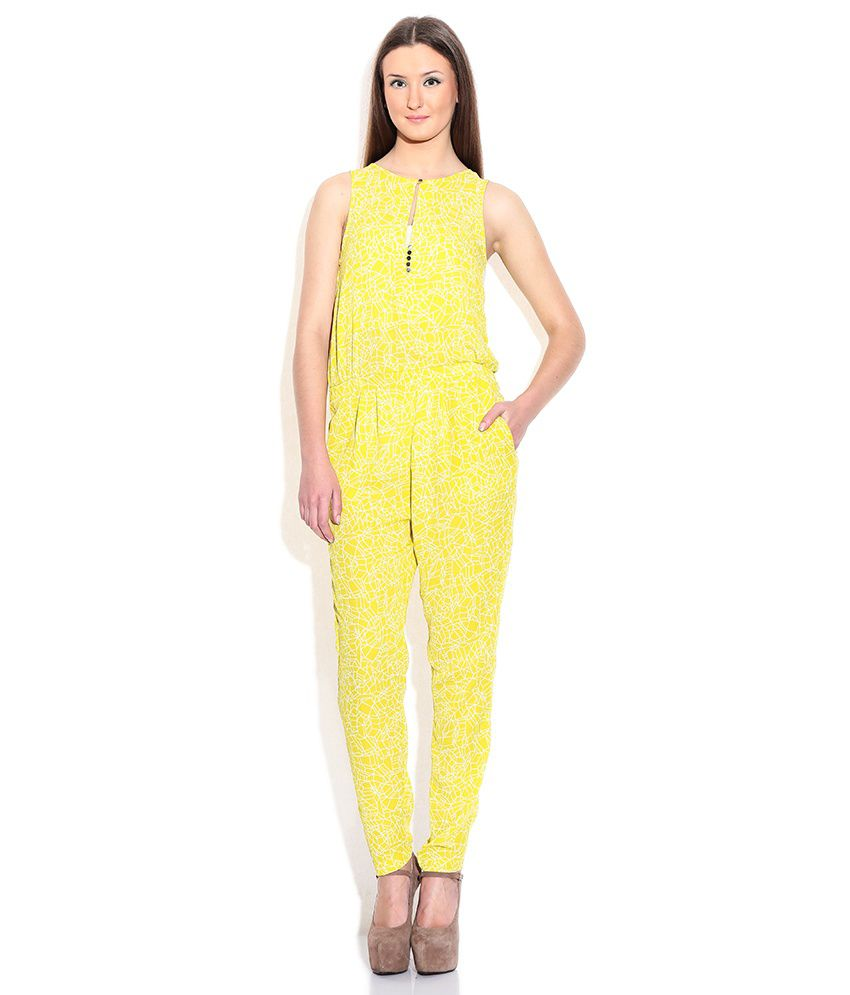 772135d034 Chemistry Yellow Polyester Jumpsuits - Buy Chemistry Yellow Polyester Jumpsuits  Online at Best Prices in India on Snapdeal