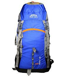 Mount Track Gear Up Rucksack, Hiking Backpack (60 Ltrs) Neon Blue