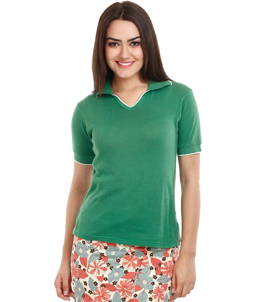 buy mustard green collar t shirt online at best prices in mustard green collar t shirt