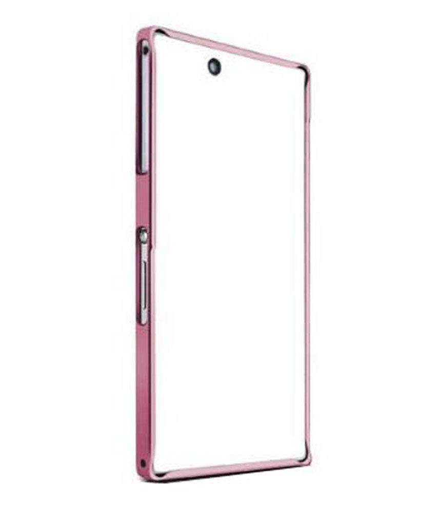 sale retailer 18628 dafe0 Newtronics Hard Bumper Cover Case Frame Protective For Sony Xperia Z ...