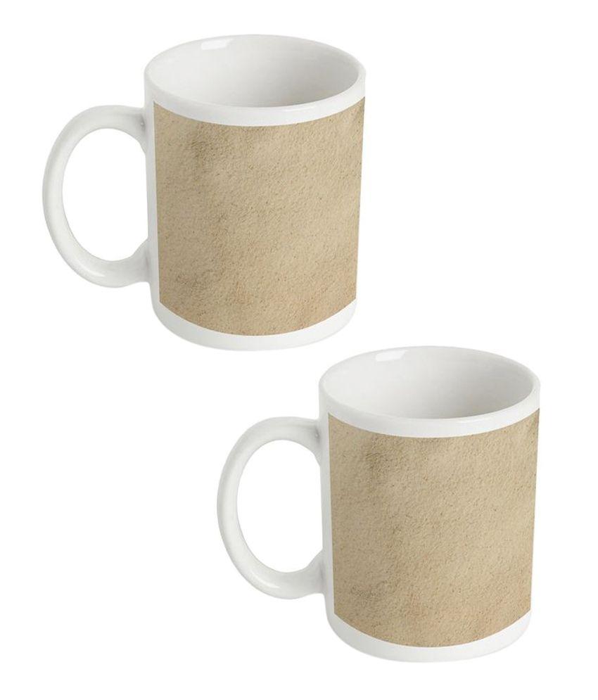 Amore Atsvats Mug Buy 1 Get 1-beige