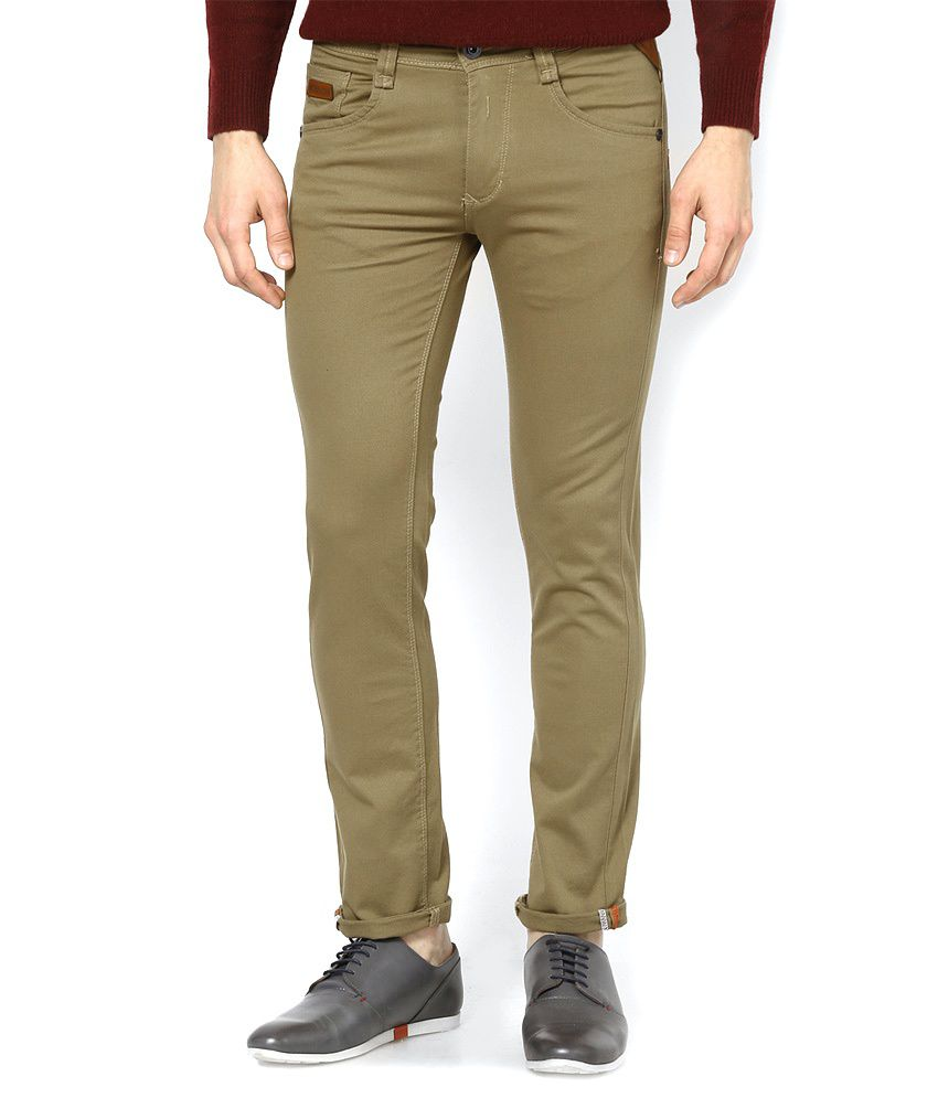 Code 61 Slim Fit Colored Jeans