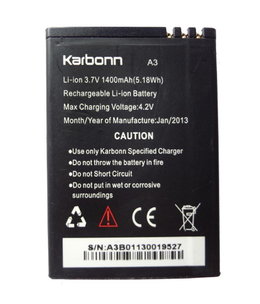 Karbonn A3 Battery