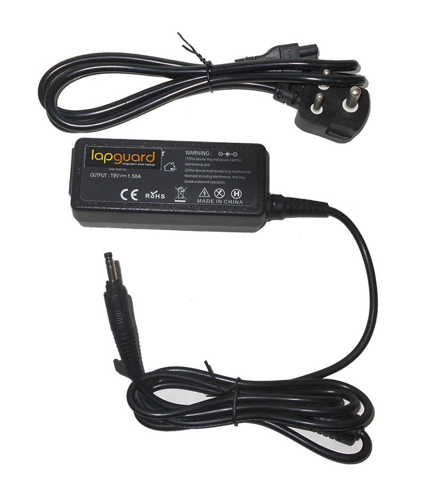 Lapguard Laptop Charger For Hp Mini 110-1127nr 110-1127tu 19v 1.58a 30w Connector