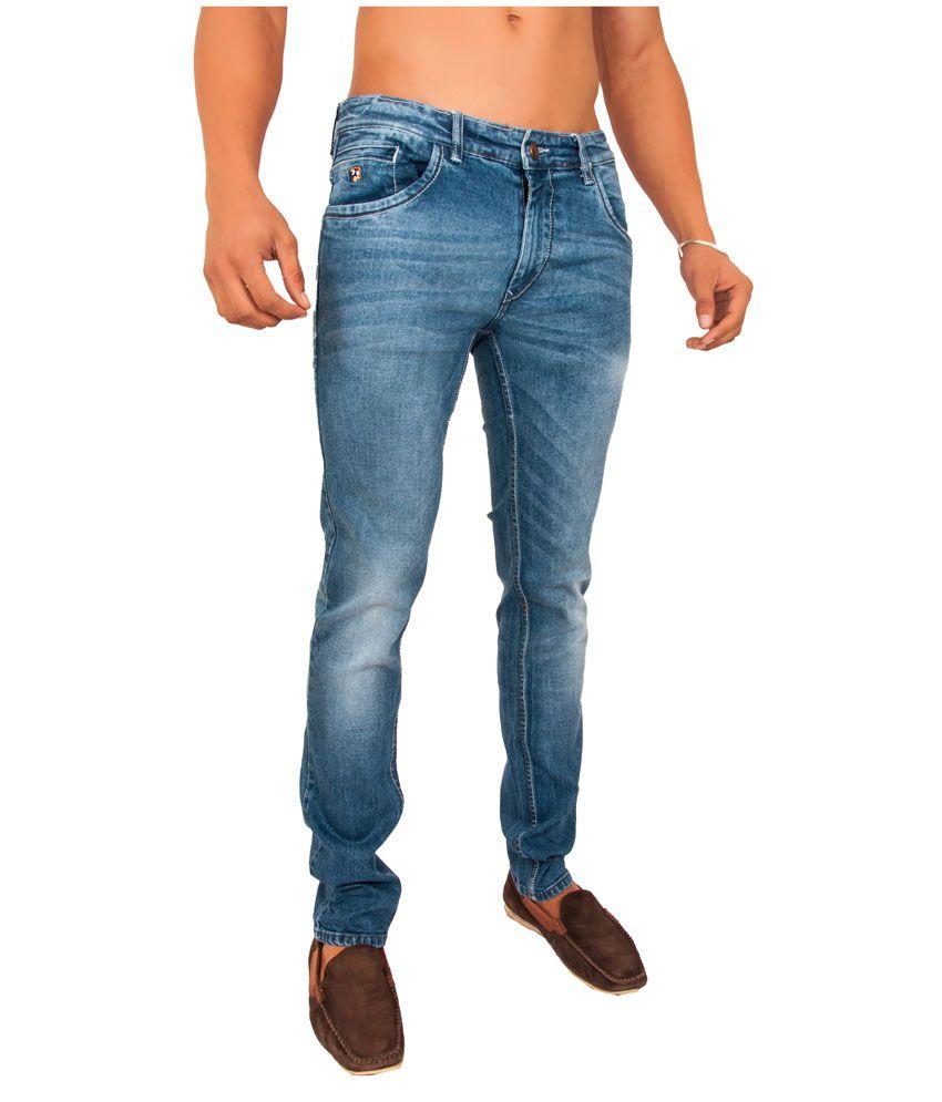 OriginaL Slim Fit Lycra Jeans Light Blue Color For Men