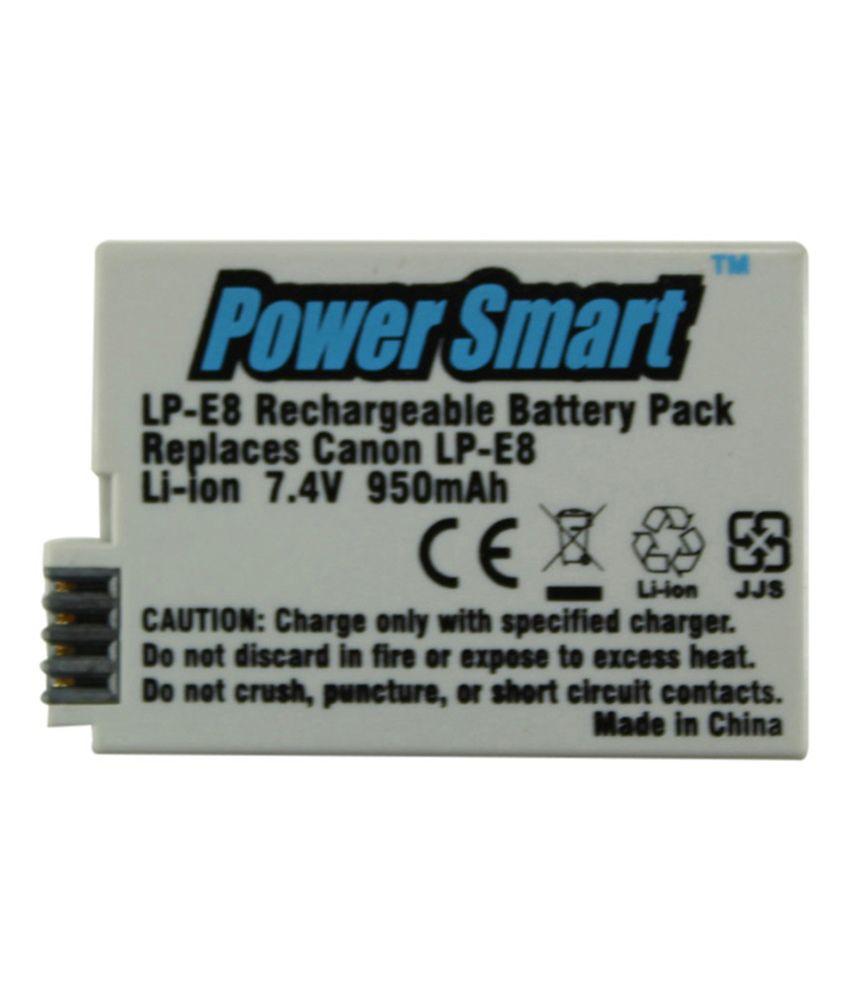 Power Smart Replacement For Canon Lp - e8 Batteries