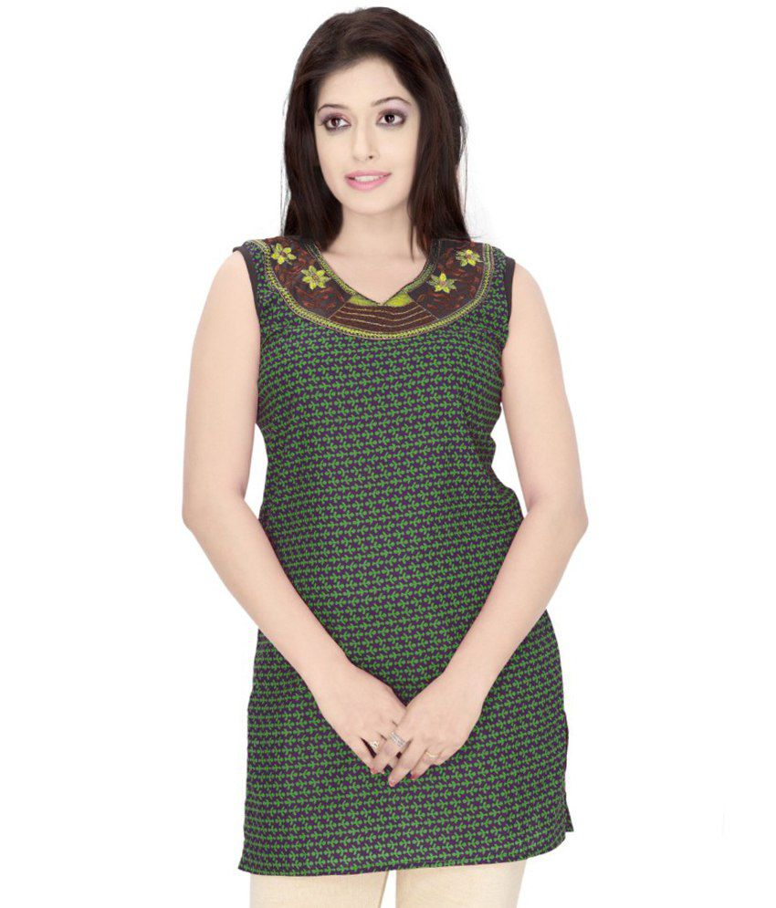 2cdbf7927ca Triveni Fancy Summer Wear Cotton Kurti - Buy Triveni Fancy Summer Wear  Cotton Kurti Online at Best Prices in India on Snapdeal