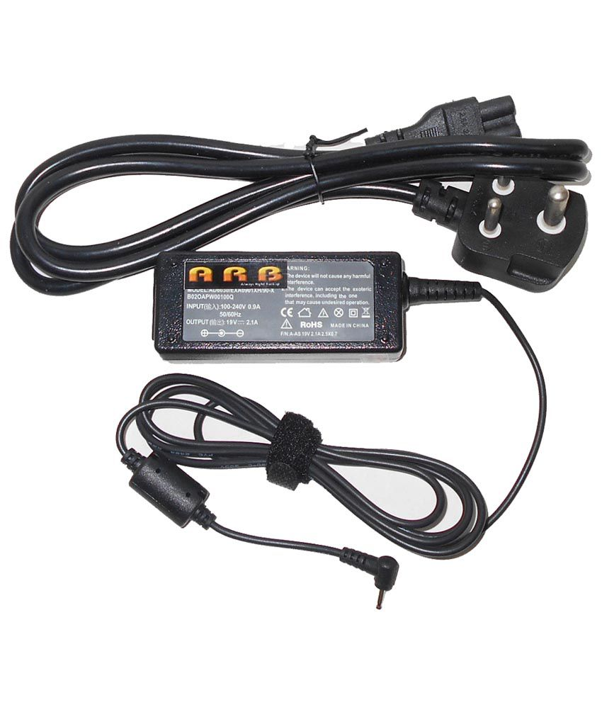 Arb Laptop Adapter For Asus Eee Pc 1005ha-eu1x-bk 1005hag 19v 2.1a 40w Connector