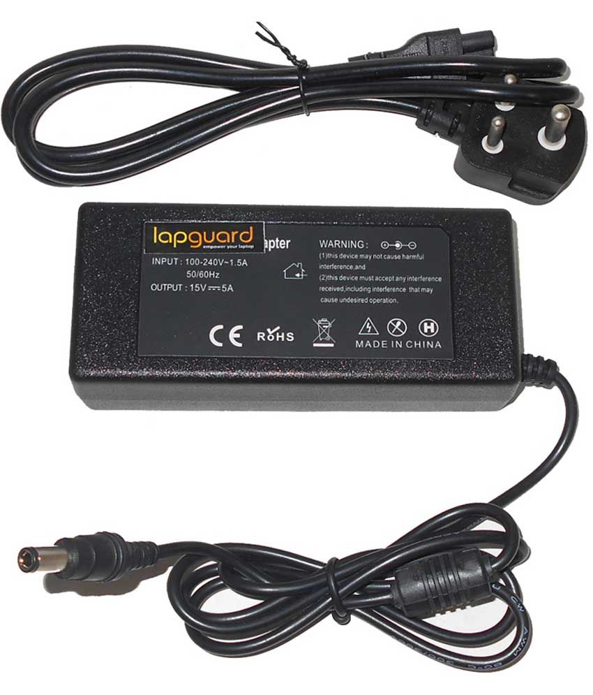 Lapguard Laptop Adapter For Toshiba Satellite A210-1b3 A210-1bv, 19v 3.95a 75w Connector