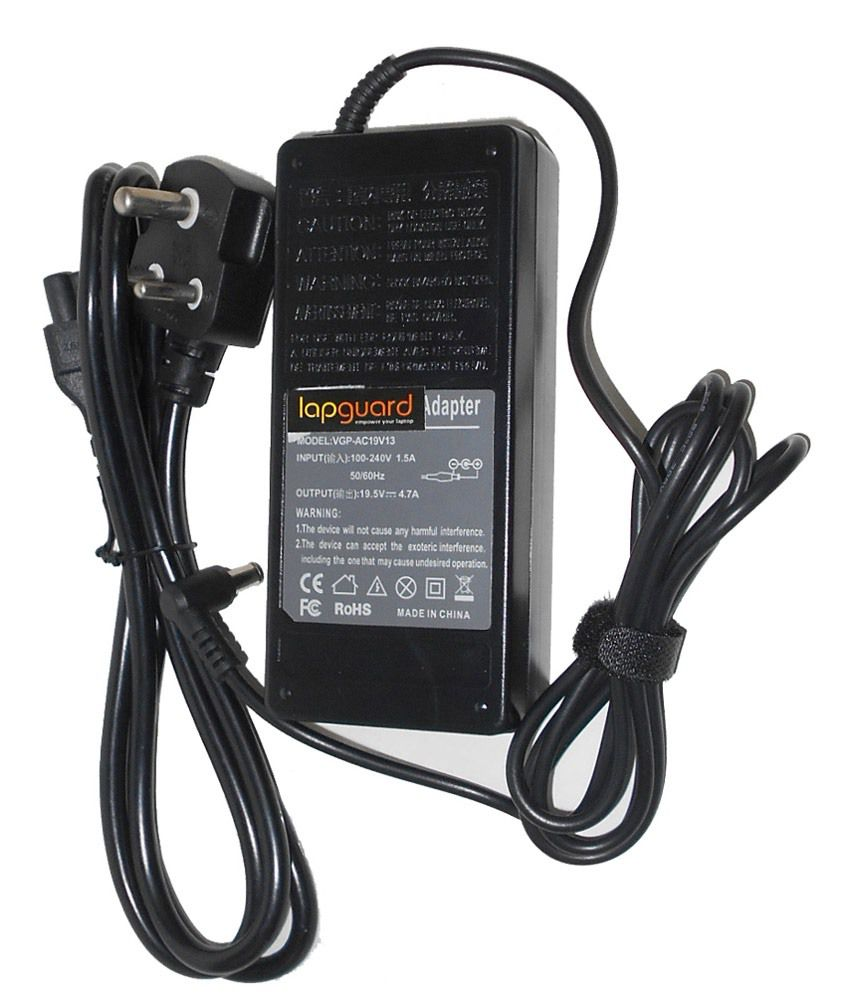Lapguard Laptop Charger For Samsung Np-r730-jt03de Np-r730-jt04de 19v 3.16a 60w Connector